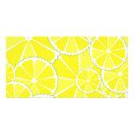 Lemon slices photo cards