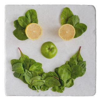 Lemon Smiley Trivet
