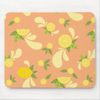 Lemon Splash Mouse Mat