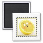 lemon square magnet