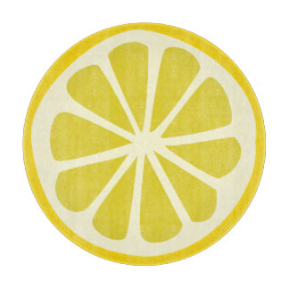 Lemon Squeezy Cutting Board