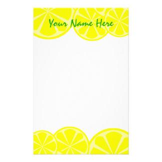 Lemon Stationery