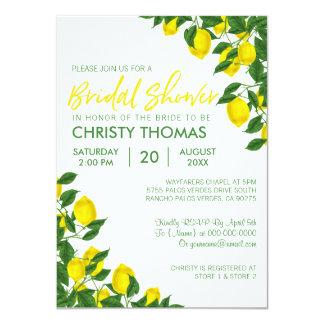 Lemon Summer | Bridal Shower Invite