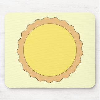 Lemon Tart Pastry. Sunny Yellow. Mouse Pad