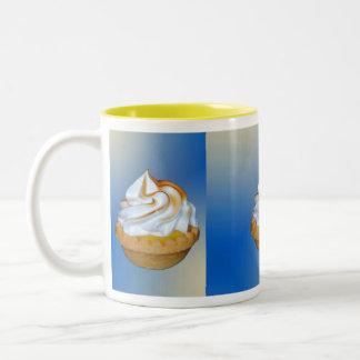 Lemon Tart Tryptich Two-Tone Mug