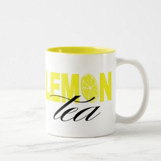 Lemon Tea Two-Tone Mug