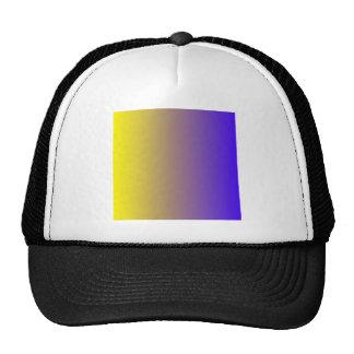 Lemon to Electric Ultramarine Vertical Gradient Cap