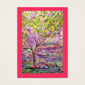 lemon tree business card