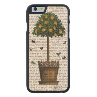 Lemon Tree Carved Maple iPhone 6 Case