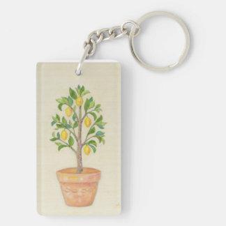 Lemon Tree keychain