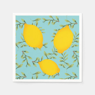 Lemon Tree Paper Napkins Disposable Serviette