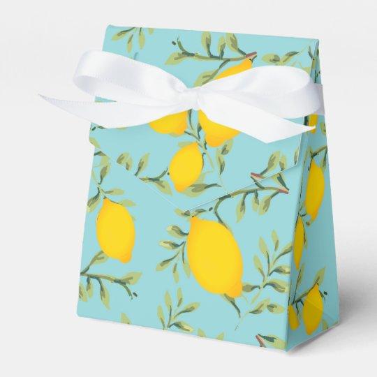 Lemon Tree Party Favour Box