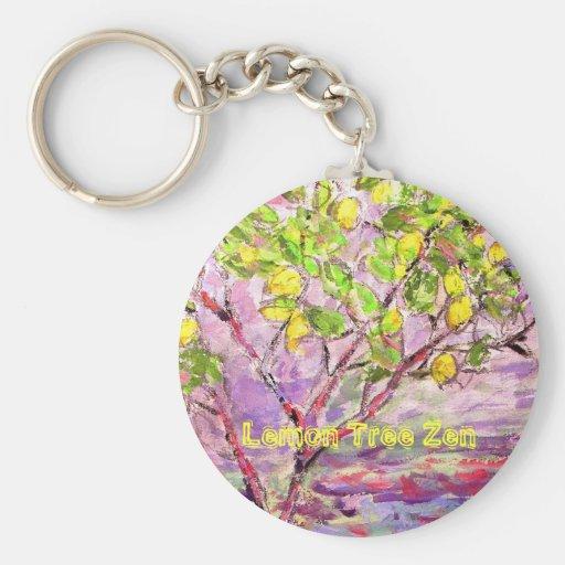 Lemon Tree Zen Keychains