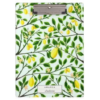 Lemon Trees Print Clipboard