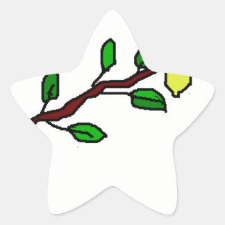 lemon twig star sticker
