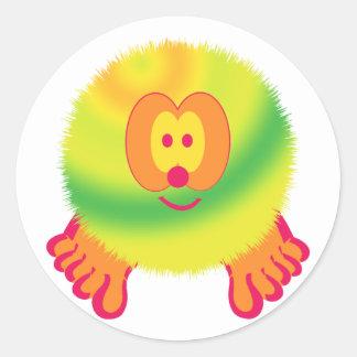 Lemon Twist Pom Pom Pal Stickers