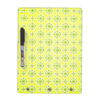 Lemon Yellow and Cheerful Green Write Board