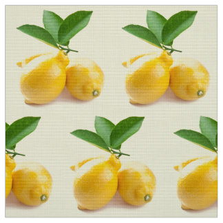 lemon yellow fabric