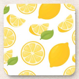 Lemon Zest Coasters