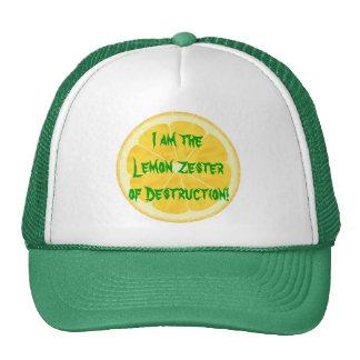 Lemon Zester of Destruction! Cap