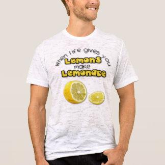 Lemonade - Burnout T-Shirt (Fitted)