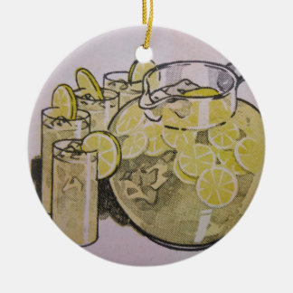 Lemonade Christmas Ornament