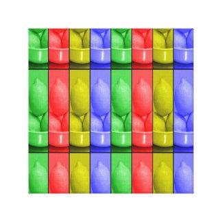 """Lemonade colour's12"""" x 12"""", 1.5"""", Single Canvas Print"""