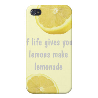 Lemonade - if life gives you lemons cover for iPhone 4