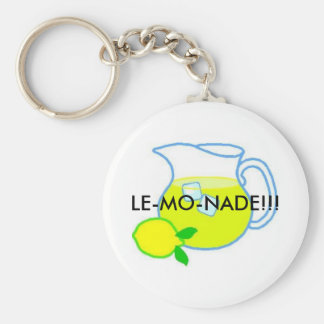 Lemonade, LE-MO-NADE!!! Key Ring