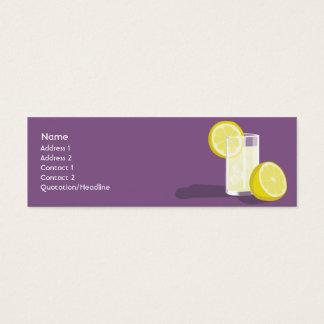 Lemonade - Skinny Mini Business Card
