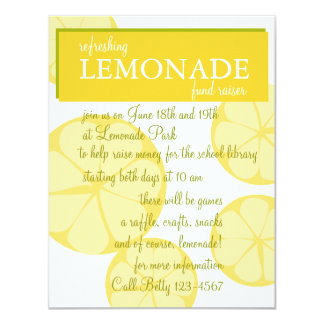 Lemonade Stand Card