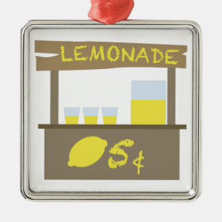 Lemonade Stand Christmas Ornament