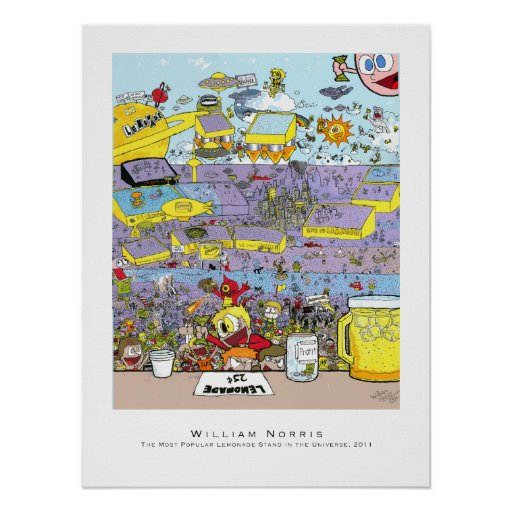 Lemonade Stand - Posters and Prints