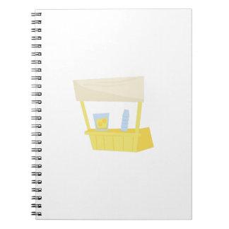 Lemonade Stand Spiral Notebook
