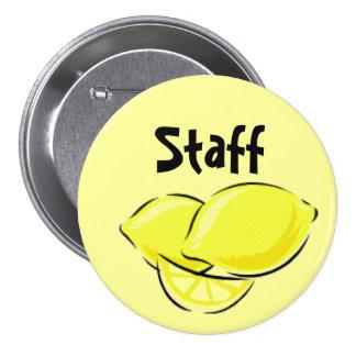 Lemonawesome Staff Pin