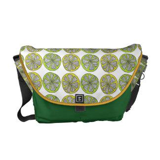 Lemons and Limes Messenger Bag