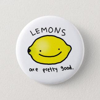 Lemons are pretty good badge (button)