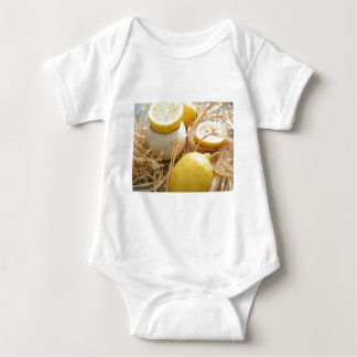 Lemons Baby Bodysuit