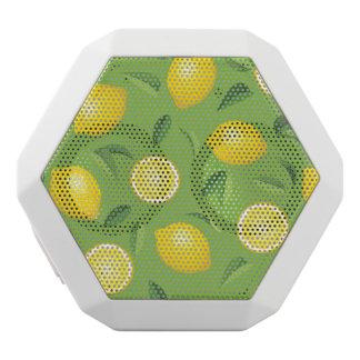 Lemons Background Pattern White Boombot Rex Bluetooth Speaker