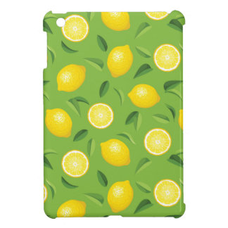 Lemons Background Pattern Cover For The iPad Mini