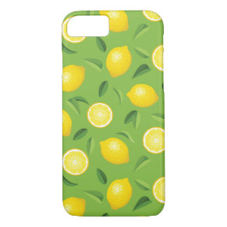 Lemons Background Pattern iPhone 8/7 Case
