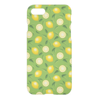 Lemons Background Pattern iPhone 8/7 Case