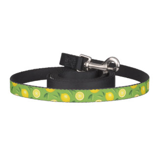 Lemons Background Pattern Pet Lead