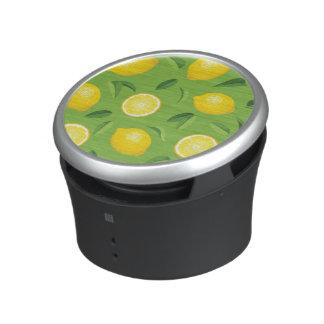 Lemons Background Pattern Speaker