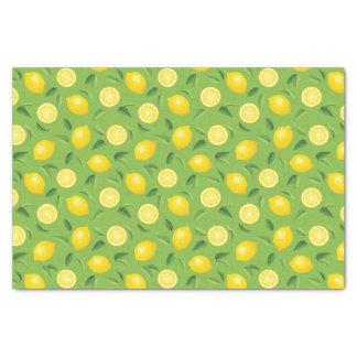 Lemons Background Pattern Tissue Paper