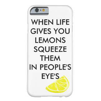 Lemons Barely There iPhone 6 Case