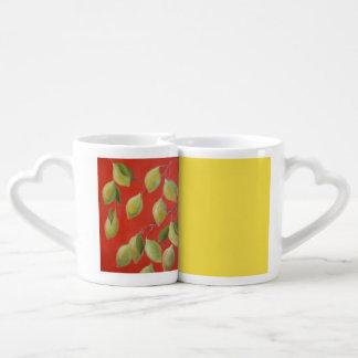 Lemons Coffee Mug Set