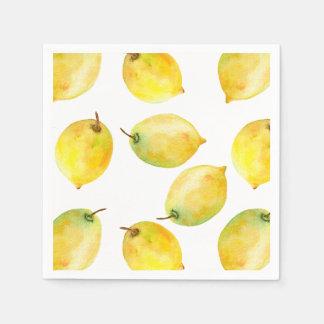 Lemons Disposable Napkins