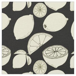 Lemons Fabric