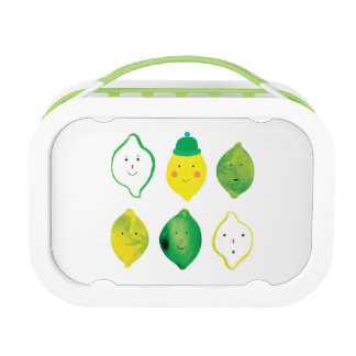 Lemons & Limes! Lunchboxes